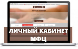 Личный кабинет МФЦ: как регистрироваться и пользоваться