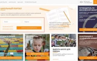 Горячая линия системы «Школьный портал»: поддержка пользователей
