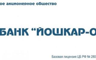 Личный кабинет в банке Йошкар-Ола: процесс регистрации, восстановление пароля