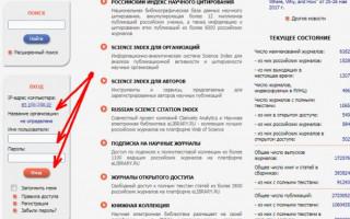 Обзор платформ eLIBRARY.RU и РИНЦ в помощь ученому-исследователю. Регистрация и работа в личном кабинете