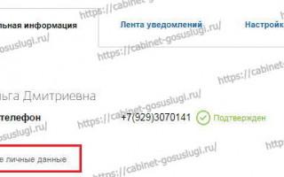Госуслуги Новотроицк личный кабинет