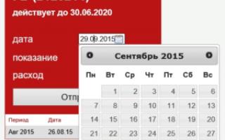 Как передать показания счетчика за воду в Сыктывкаре (Республика Коми)