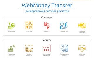 Личный кабинет Вебмани: функционал аккаунта, инструкция для входа в систему