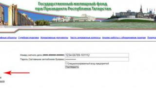 ГосЖилФонд при Президенте РТ: функции, личная страница ГЖФ