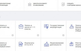 Петербургское образование личный кабинет